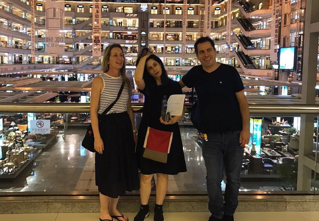 לקוחות דיפרנט בסין - ליווי אישי ע