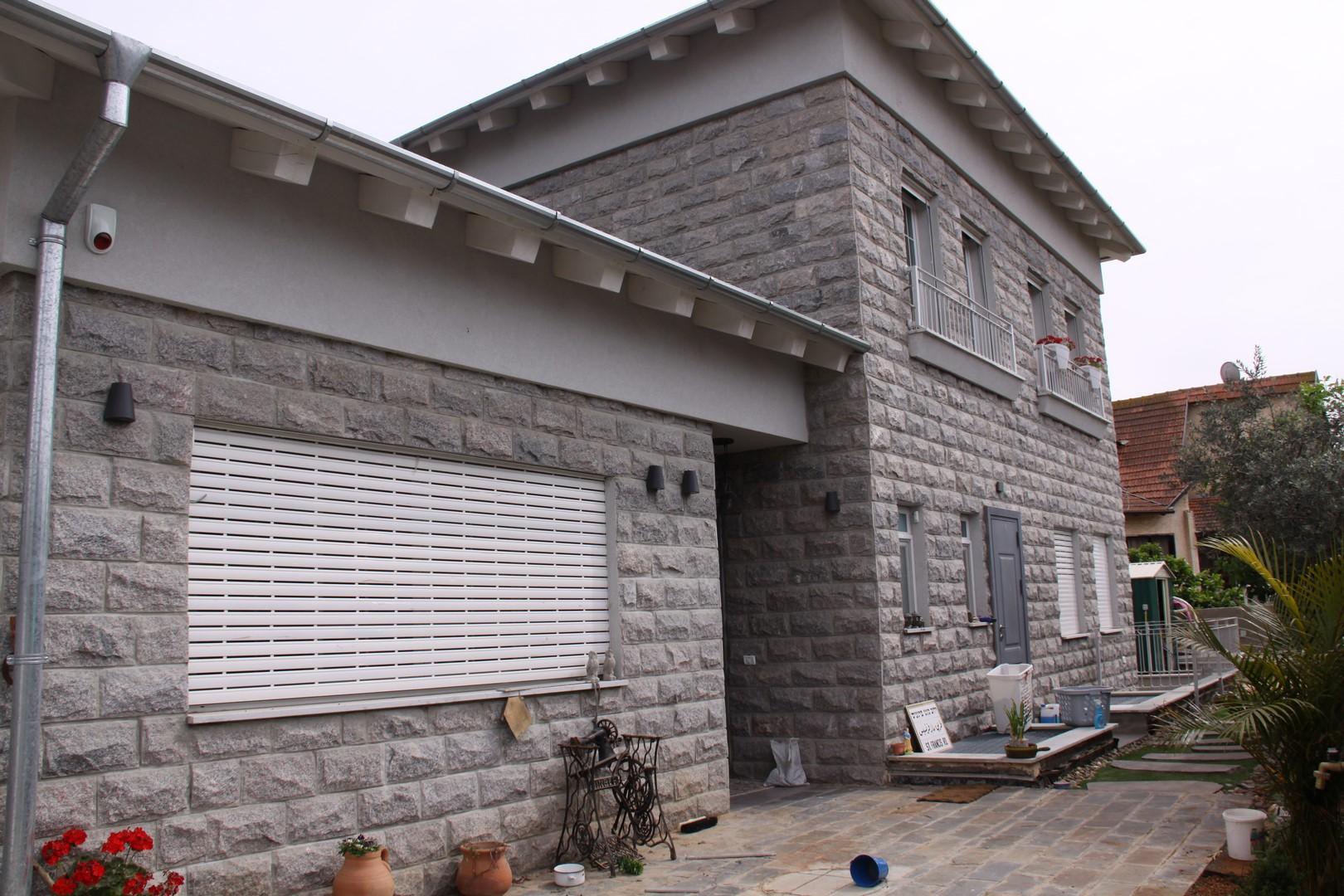 בית שנבנה עם מוצרי בניה מסין